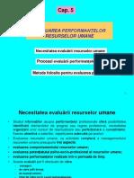 Cap 5 Evaluarea Perform RU-2015