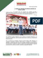 2016-05-28 Será Colosal El Cierre de Campaña de Enrique Serrano en Ciudad Juárez