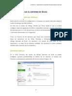 Personalizar El Entorno de Excel