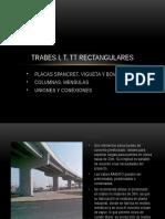 Trabes I, T, TT Rectangulares