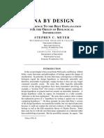 DNA by Design