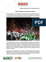 2016-05-29 Cierra Enrique Serrano Su Campaña en Parral