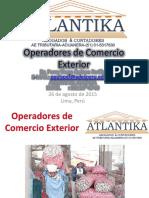 Operadores Comercio Exterior