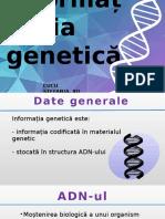 Informatia genetica