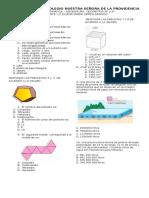 evaluaciones geometria