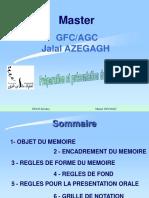 Préparation Et Présentation Mémoire Stage
