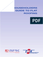Householders Guide to Flat Roofing