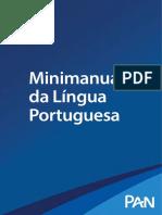 Minimanual Língua Portuguesa