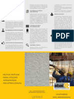 ABAI Folder Vantagens Da Argamassa Industrializada