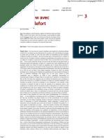 Entrevista em 2004 com Claude Lefort - por Ruy Fausto.pdf