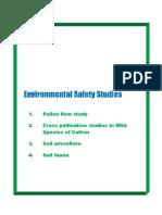 Environmental Safety Studies