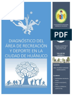 Diagnóstico Recreación - HCO