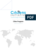 2016 Cities Program Summary