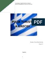 Piata Turistica a Greciei