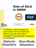 The Role of DILG in DRRM - With Notes