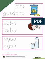 Bloque IV Gusanito, Bebe y Agua