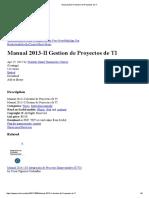 Manual 2013-II Gestion de Proyectos de TI jsdh asjda