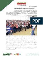 2016-05-30 Cierra Hoy Enrique Serrano Campaña en Cuauhtémoc