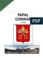 Acuñaciones Papales Hasta 1605