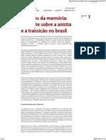 Debate sobre a anistia e a transição no Brasil - Cicero Araujo.pdf