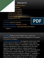 Proyocto de Ecologia Elaboracion de de Biogas, Biol y Biosol 23334445566