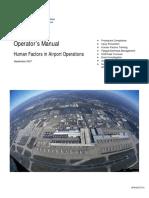 FAA (2007) Human Factors Manual for Airport Operations