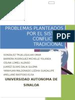 Grupo 4-5 Problemas Planteados Por El Sistema Conflictual Tradicional