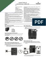 Liebert CX600 User fManual 20140218