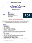 Project Manager's Roadmap