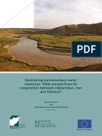 Developing Transboundary Water Resources