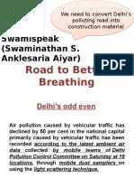 Delhi's Odd Even