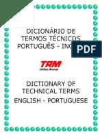 Termos Técnicos TAM Inglês- Português