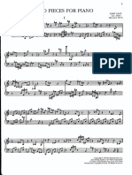 two pieces for piano