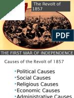 The Revolt of 1857, India