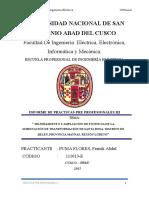 Mejoramiento y Ampliación de Potencia de La Subestación de Transformación de Santa Rosa, Distrito de Belén, Provincia Maynas, Región Loreto- Informe de Practica