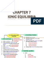 7.0 Ionic Equilibria (Students)