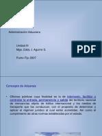 Administracion Aduanera Pto Fijo 2007