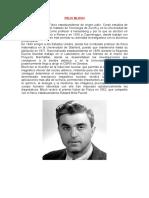 Biografia de Felix Bloch