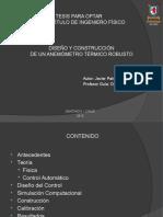 Diseño y Construcción de un Anemómetro Térmico Robusto
