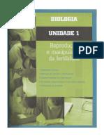 Unidade 1 - Reprodução Humana, Hitologia Dos Gonadas e Gametogénese e Controlo Das Hormonas e Dos Ciclos Sexuais