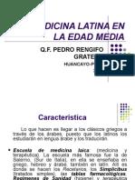La Medicina Latina en La Edad Media... KvO!!!