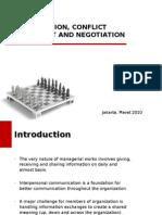 Communication Negotiation