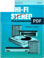 Hi-Fi Stereo Handbook by William F. Boyce - third edition (1970)