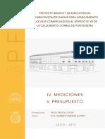 IPC_PFC IV - V. Mediciones y Presupuesto