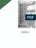 Nocera 024 - Weber, M (2007)_Sociología de La Dominación
