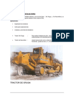 Equipos Para Movimiento de Tierras - Tractores-Resumen
