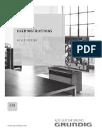40 Vle 6520 Bh - Grundig Manual