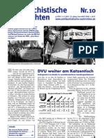 antifaschistische nachrichten 2007 #10