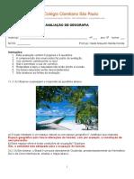 AVALIAÇÃO II - 6o. ANO - 1 BIM COM GABARITO.doc