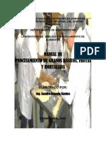 Manual Procesamiento Granos Frutas y Hortalizas i 2016